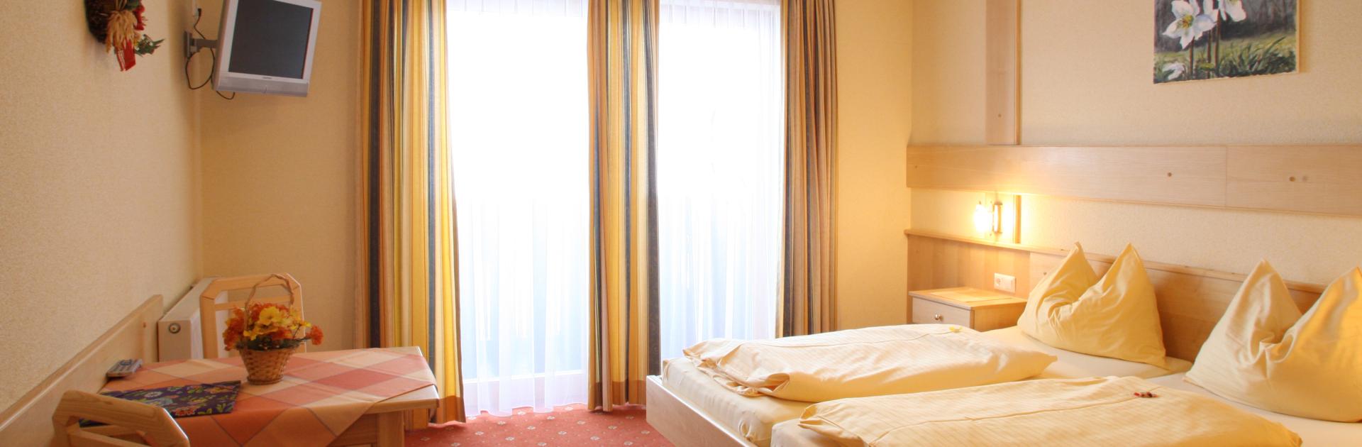 Komfort Zimmer im Hotel Timmelbauerhof