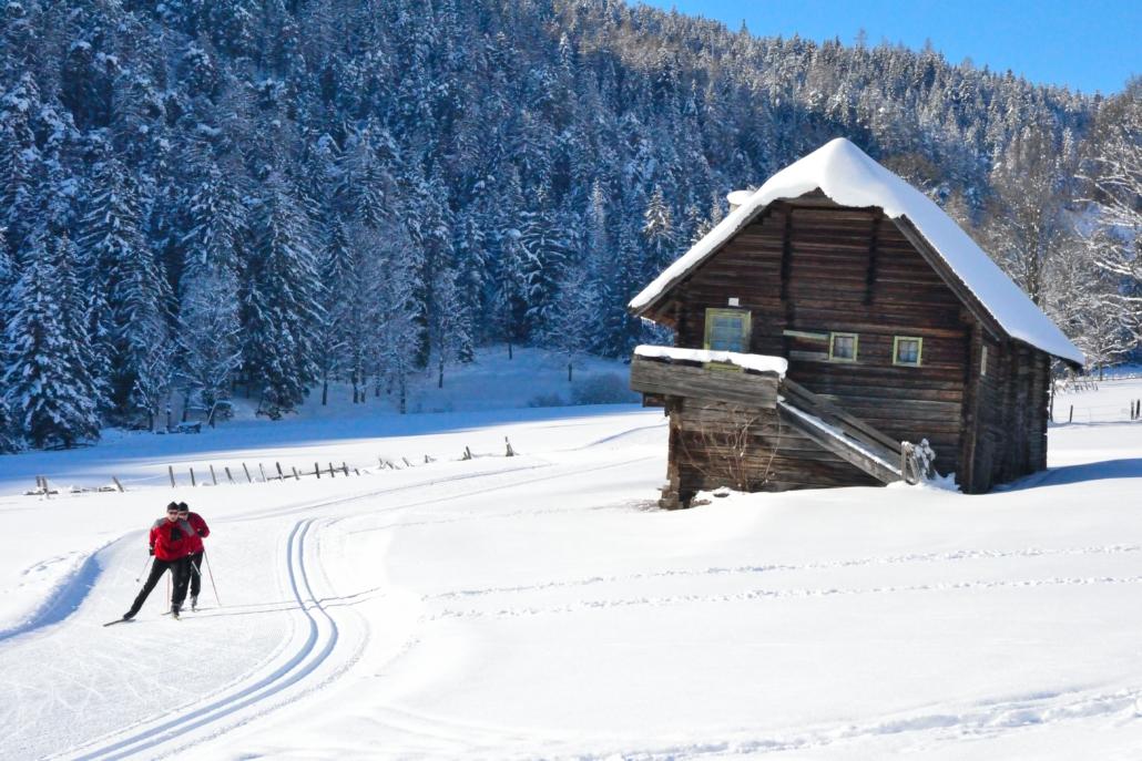 Langlauf Paradies Ramsau am Dachstein