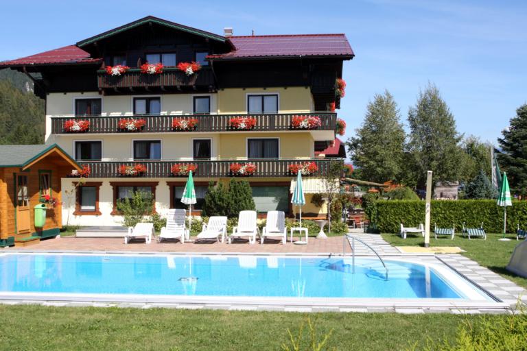 Hotel Timmelbauerhof beheizter Außenpool