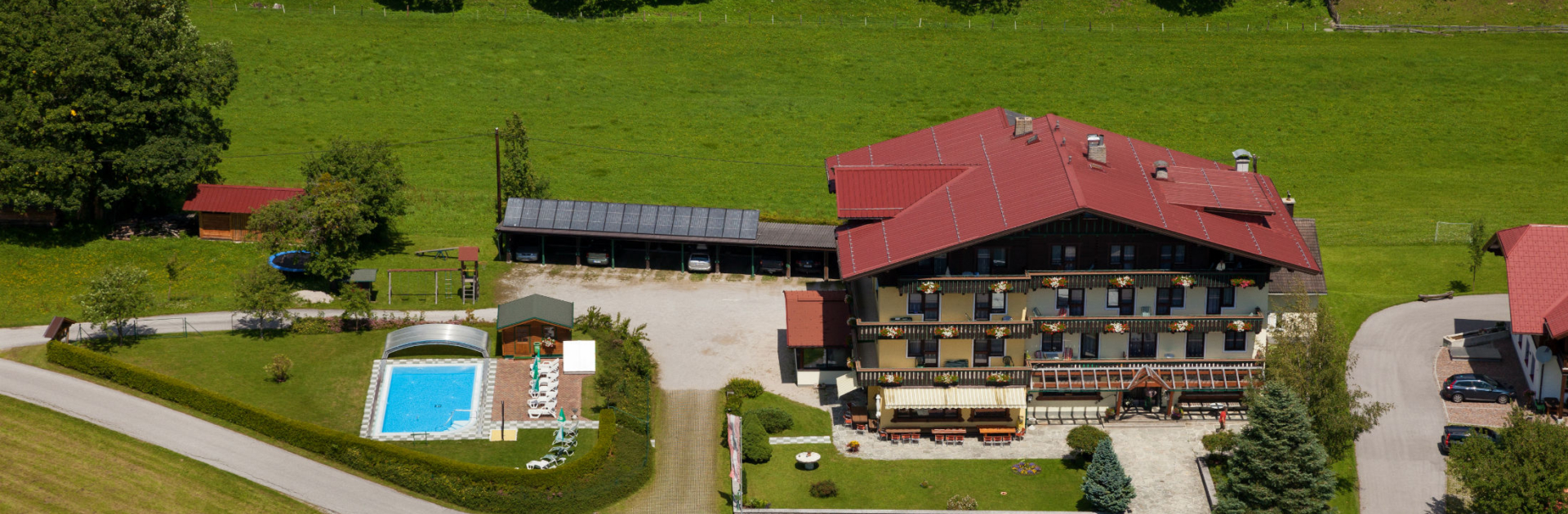 Hotel Timmelbauerhof Luftansicht
