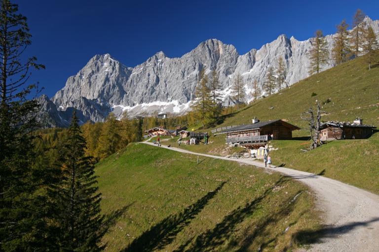 5 Hütten Weg - Brandalm und Dachstein