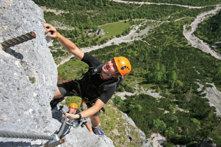 Siega Klettersteig Silberkar