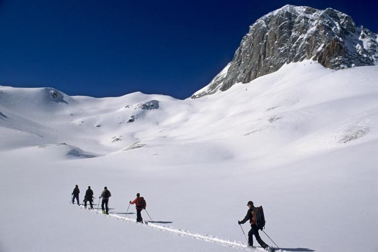 Tourenski Dachstein Gletscher Gebiet