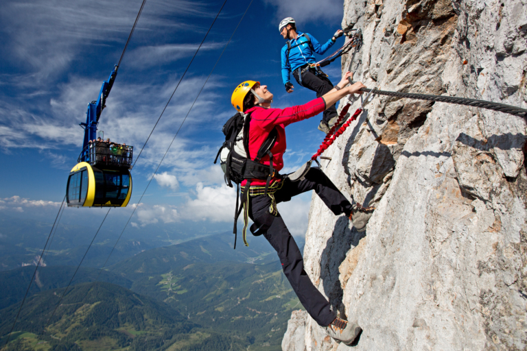 Skywalk Klettersteig in Ramsau am Dachstein