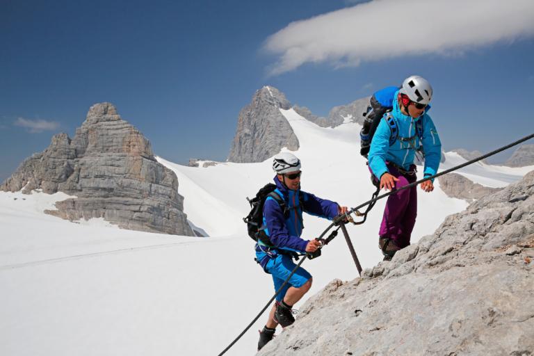 Wiege der Klettersteige-Ramsau am Dachstein