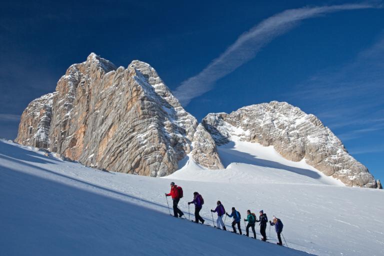 Dachstein Gletscher ideal für sämtliche Wintersportarten