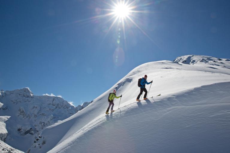 Skitouren in unberührter Natur