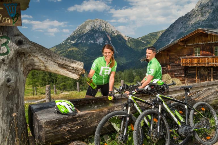 Schönsten E-Bike Touren im Ramsauer Almengebiet
