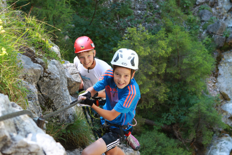 Kinder- und Jugendklettern am Sattelberg