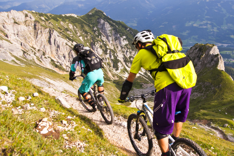Alpine Mountainbike Touren rund um Ramsau am Dachstein