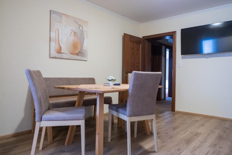 Wohnküche Apartment Sattelberg - Timmelbauerhof