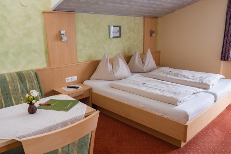 Schlafzimmer Apartment Sattelberg - Timmelbauerhof